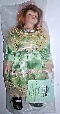"Limited Edition RAPUNZEL Seymour MANN® STORYBOOK TINY TOTS™ Porcelain Doll - 10"""