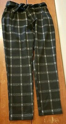 Abercrombie Kids Girls Plaid Pants Size 9/10