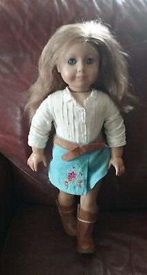 American Girl Doll   Nicki   2007 Girl Of The Year   Retired   Original Outfit