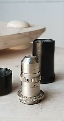 Soviet Vintage Objective Lens Os F 22 X 0.36 Nd155 For Microscope Lomo Zeiss