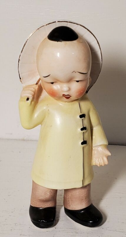 "Vintage Chinese Japanese Oriental Asian Figurine JAPAN 5"""