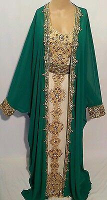 2 pcs wedding  farashas.khaliji farasha.dress.moroccan/indian kaftan.abaya .new