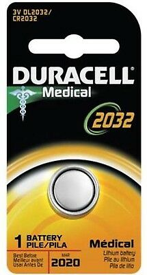 Duracell Lithium Battery Medical 3 Volt [DL2032] 1 ea (Pack of 8)