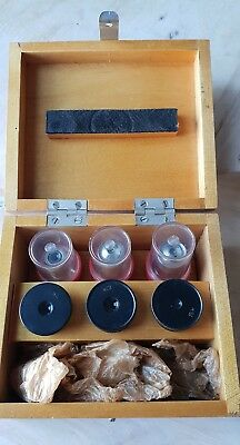 Soviet Vintage Objective Lens 8 20 20 X 0.40 Microscope Lomo Zeiss Rms