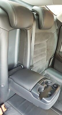 Ford Mondeo MK4 Rear Seat Left Backrest Half Leather/Suede