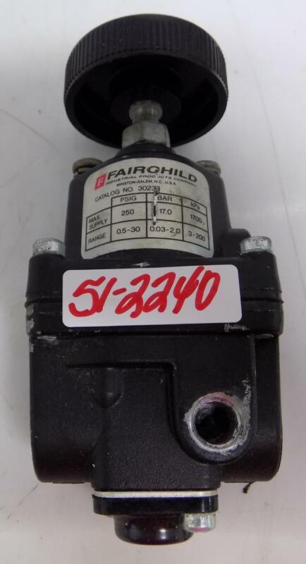 FAIRCHILD 250PSIG 1700KPa PRESSURE REGULATOR 30233