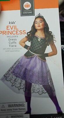 Evil Princess Costume (Child COSTUME Kids EVIL PRINCESS Size Medium)