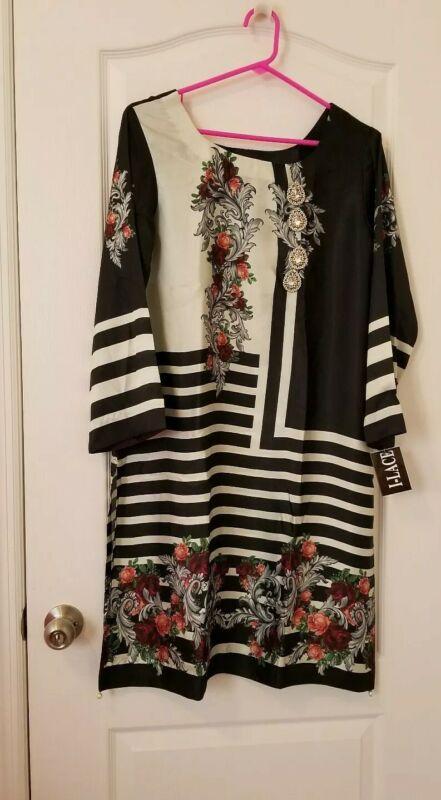 Pakistani Silk Embellished Kurta