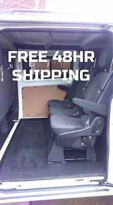 FORD TRANSIT CUSTOM LIMITED TOURNEO REAR SEATS QUICK RELEASE  VW TRANSPORTER T5
