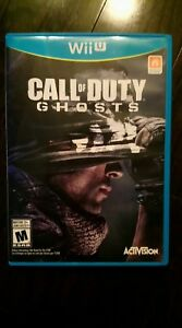Wii U game Call of Duty Ghosts. Excellent condition