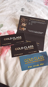 2 Gold Class tickets Norlane Geelong City Preview