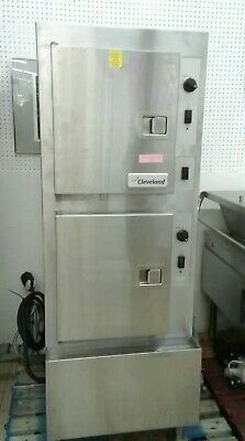 Cleveland Range 24cea-10 Ultra 10 Electric Convection Steamer In Good Working...