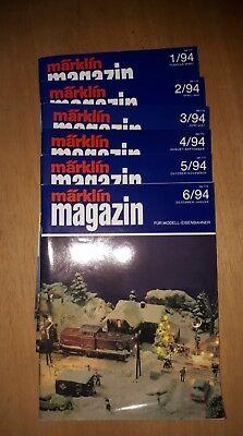 Märklin Magazin 1-6/94