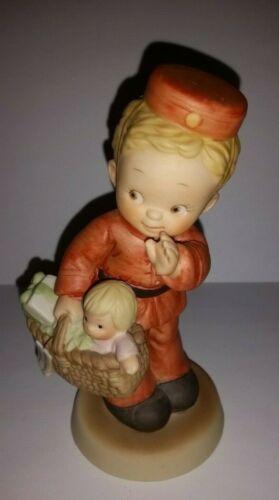 ENESCO Memories of Yesterday Figurine SPECIAL DELIVERY #114979 1988