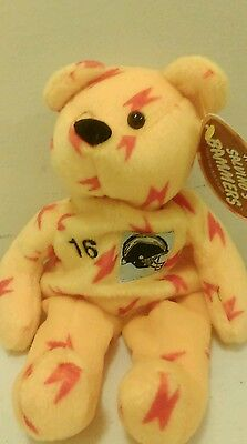 Salvino's Bammers Minnesota Vikings #16 Leaf Bean Bag Plush 9 inches with tag