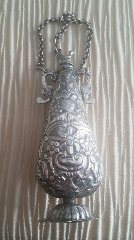 TURKISH OTTOMAN SILVER VESSEL