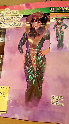 Vintage Selena QUEEN Snake Charmer Women's Hallowee Costume lot 105 by Forum NW](Hallowee Costumes)