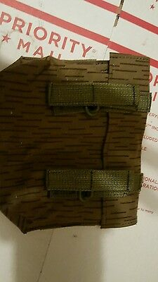 SKS stripper clip pouch, East German rain camo, unissued