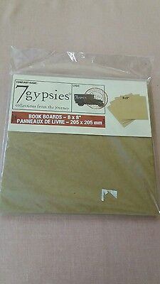 7 Gypsies Book Boards (7 Gypsies Book Board Package 4 Small 8x8 Boards Package NEW 4)