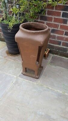 Tall Clay Chimney Pot Planter Garden ornament - collection Only