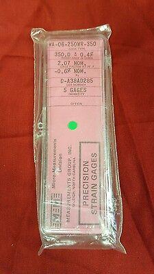 Vishay Micro Measurements Precision Strain Gage Wa-06-250wr-350 Gages  B1