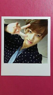 BTS JK JUNGKOOK Official PHOTOCARD WINGS Polaroid Type 2nd Album Bangtan Boys 정국