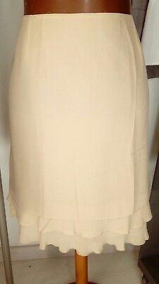 bonita y buena falda mujer talla grande 56 beige verano NUEVA ref. 2.1.3 segunda mano  Ciutadella de Menorca