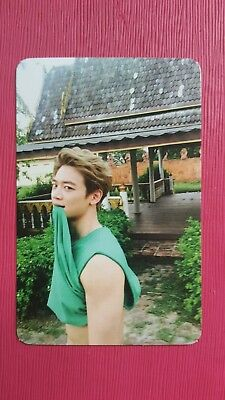 SHINee MINHO Authentic Official PHOTOCARD ODD BLUE Ver. 4th Album Min Ho 민호