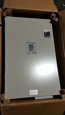 Yaskawa Z1000 Cimr-zu4a0124aaa 3r Drive Inverter 5060hz 400v 124a 3ph Bypass
