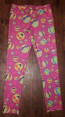 Nickelodeon TMNT Teenage Mutant Ninja Turtle Pink Leggings Pants Sz XL 14-16 (Ninja Turtle Leggings)