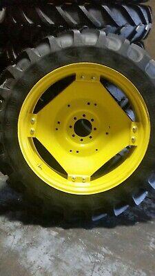 12.4r36 12.4-36 Michelin Agririb R1 On John Deere Wheel
