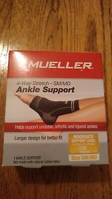 MUELLER - 4 WAY STRETCH 1 ANKLE SUPPORT - SM/MD- Free shipping