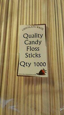 "11"" Candy Floss Machine Sticks x 1000  PRO FOODGRADE PRODUCT QUALITY ASSURED  for sale  Tiverton"