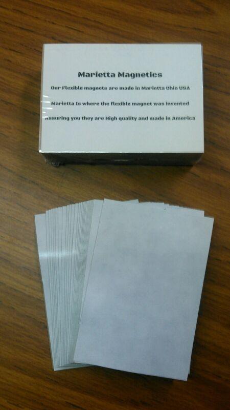 500 3.5 x 5 inch Flexible Magnets Self Adhesive Marietta Magnetics
