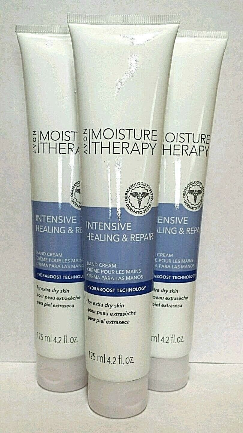 LOT OF 10 BRAND NEW AVON MOISTURE THERAPY INTENSIVE HLNG.&RP