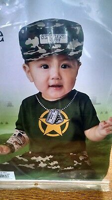 Private Duty Soldier Army Costume Infant Toddler 76048 (Baby Soldier Costume)