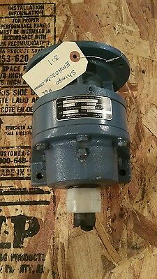 Shimpo Gear Speed Reducer Worm Gearbox 31 Ratio Ema020300z000000 1579w