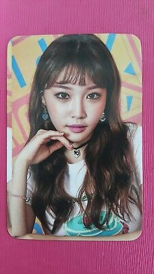 I.O.I IOI CHUNGHA Official PHOTOCARD 2nd Album MISS ME Produce 101 Photo Card 청하