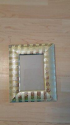 Fotorahmen Rahmen Bilderrahmen zum Aufstellen oder auf die Wand  20 x 24 cm neu (20x24 Bilderrahmen Gold)