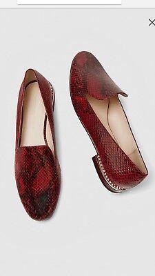 Zara Flat Embossed Shoes   6 &  & 7.5 & 8