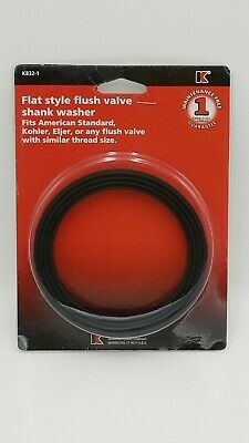 Keeney K832-1 Flat Style Flush Valve Shank Washer Fits Kohler American Standard  American Standard Washers