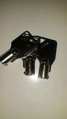 Tranax Genmega Atm Cash Cassette Key Mcdu Scdu 3 Keys 8880
