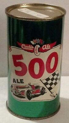 Very Nice Rare Cook S 500 Ale Flat Top Beer Can   Gorgeous   Minty