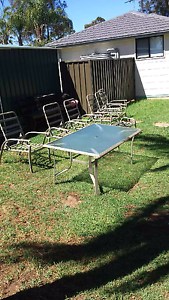Outdoor seating Rosemeadow Campbelltown Area Preview
