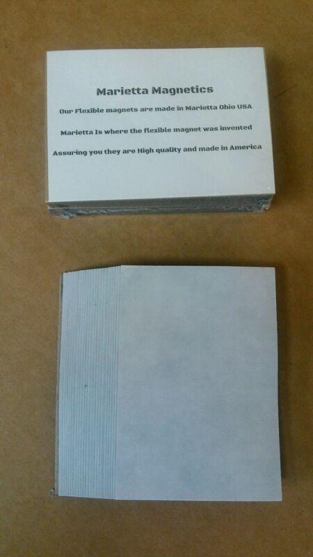 500 2.5 x 3.5 inch Flexible Magnets Self Adhesive Marietta Magnetics