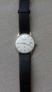 Mappin & Webb Gents 9ct Gold Watch