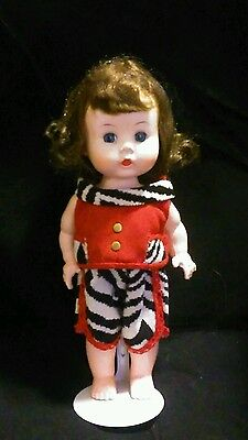 "Vintage 1954 Arranbee ""Littlest Angel"" 2pc Picnic Outfit"