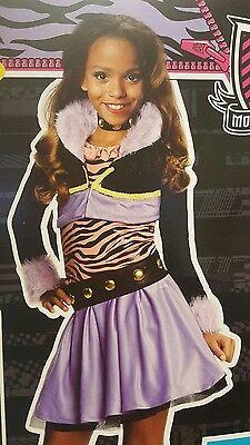 Clawdeen Wolf Monster High Dress Costume Girl Rubies 630129