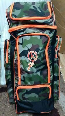 KHATRI Large Camouflage Duffle cricket bag. Very big size. Promotional offer.