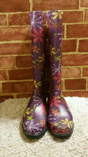 WOMEN'S HEARTLAND FOOTWEAR MADE IN USA ELECTIC FLOWER RAIN B